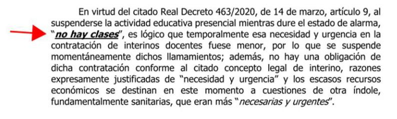 Buenos días, docentes: para la administración NO trabajáis