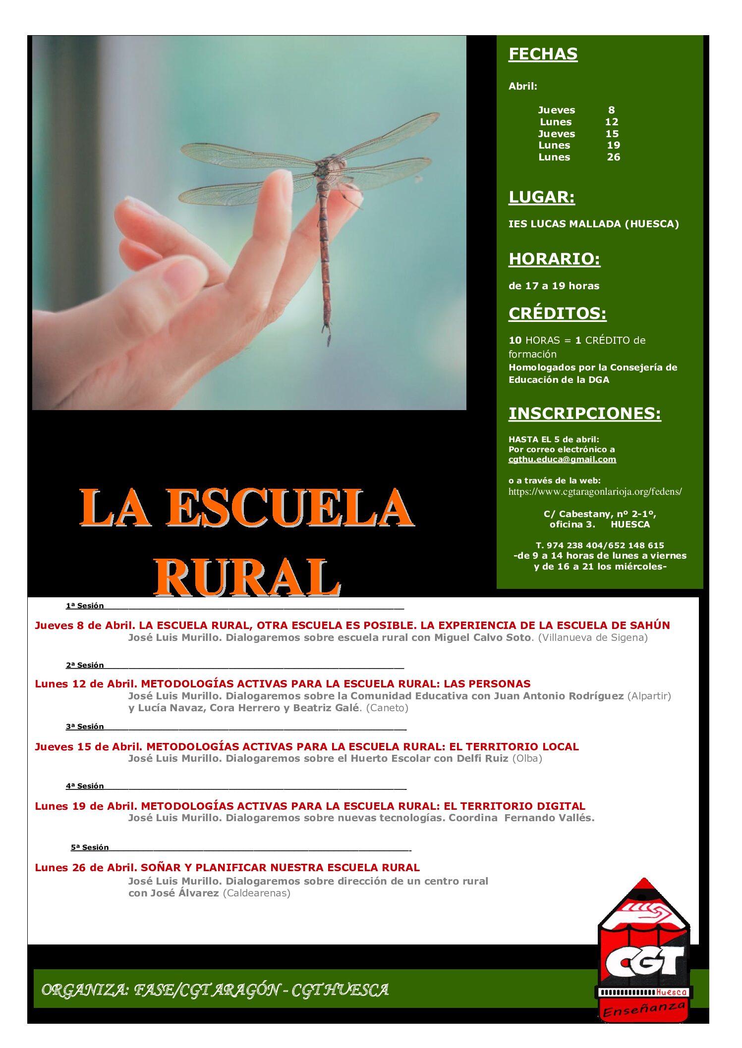 Curso Escuela Rural