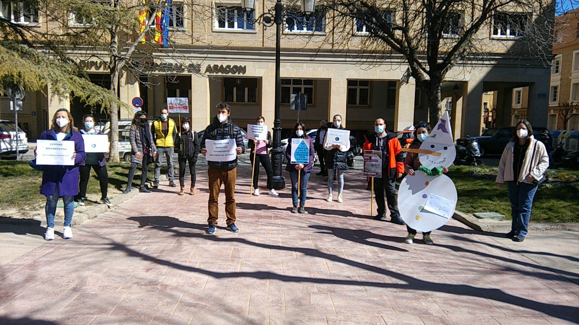 La Junta de Personal de Huesca sigue con las movilizaciones
