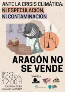 Alianza por la emergencia Climática @ Plaza Pedro Nolasco, Zaragoza