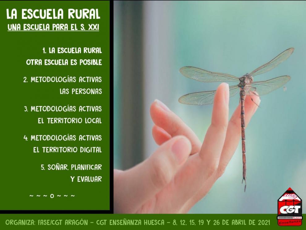 """El curso """"La escuela rural: una escuela para el siglo XXI"""" comienza este jueves en Huesca"""