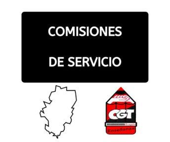 Comisiones de servicio: asesorías de formación de profesorado