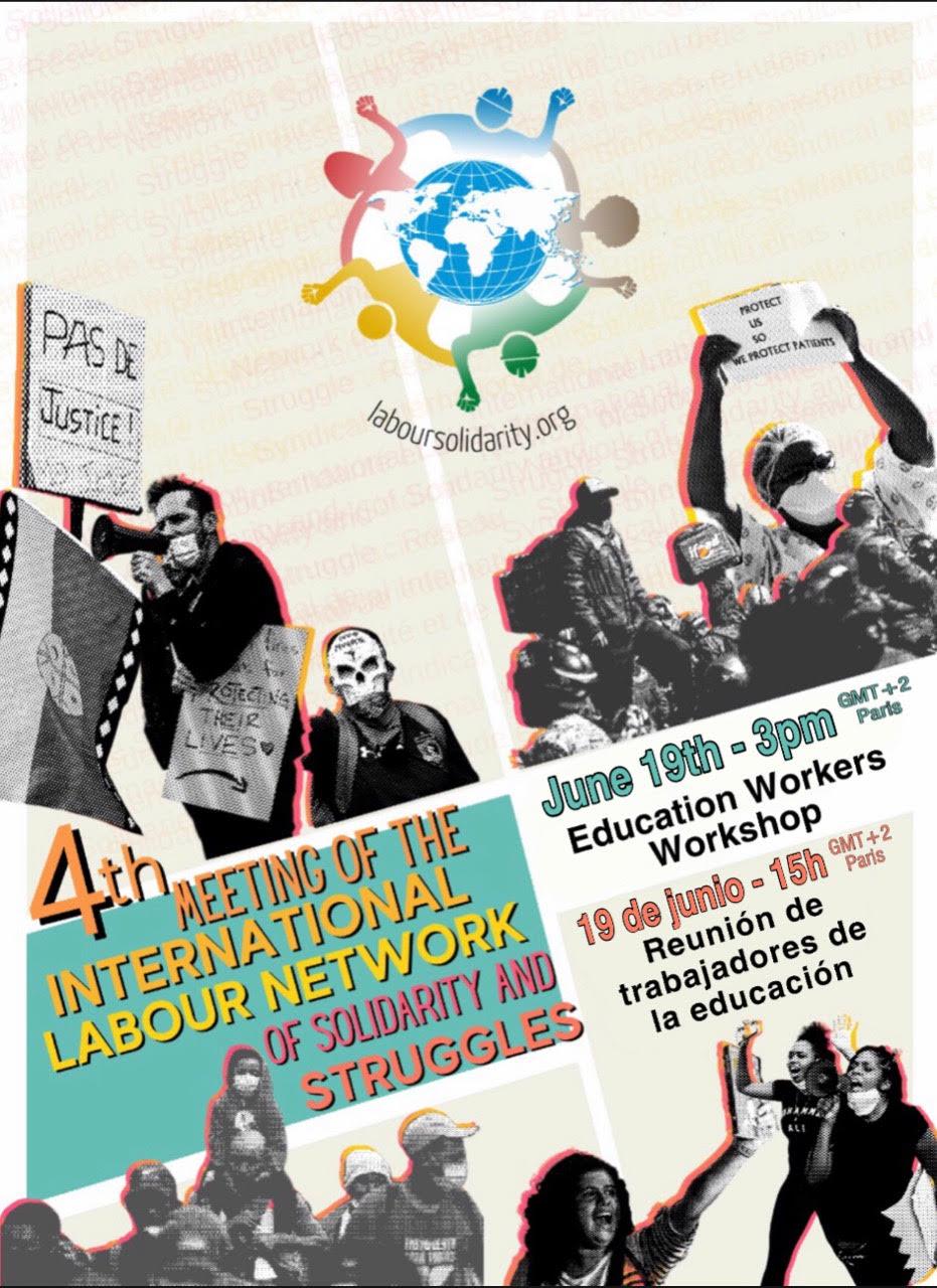Jornada de la Red Sindical Internacional de Solidaridad y Luchas sobre Educación