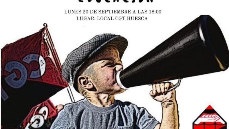 Asamblea Enseñanza Huesca