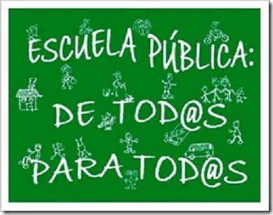 Exigimos abrir las ayudas municipales al alumnado de la Escuela Pública.