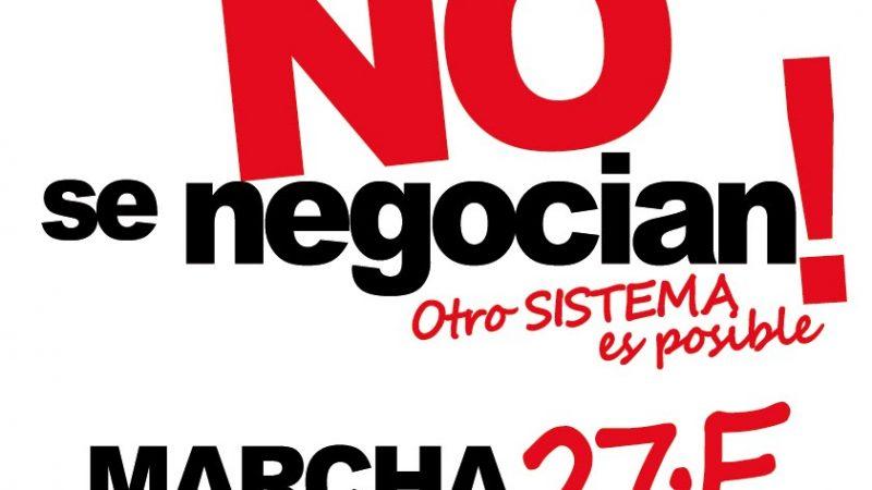 [Logroño] 27/01/11 Marcha: «NUESTROS DERECHOS NO SE NEGOCIAN. OTRO SISTEMA ES POSIBLE»