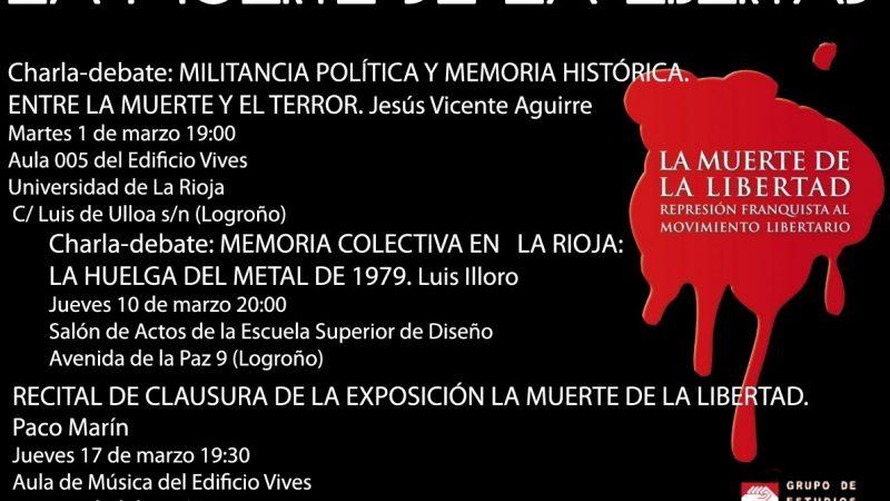 [Logroño] Marzo: Jornadas «La Muerte de la Libertad»