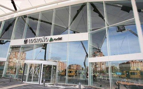 CGT denuncia el abandono de la estación ferroviaria de Logroño