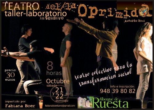 Taller de teatro intensivo en Ruesta