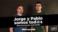 En apoyo a Jorge y Pablo