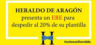 CGT apoya a la plantilla del Heraldo de Aragón frente a la amenaza de ERE