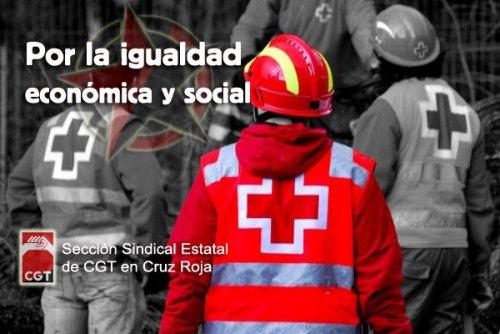 CGT gana las elecciones en Cruz Roja Teruel
