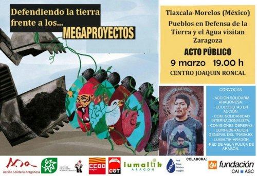 Charla: Defender el territorio y los derechos humanos frente a los megaproyectos