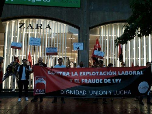 CGT valora positivamente la suspensión del ERTE en Inditex