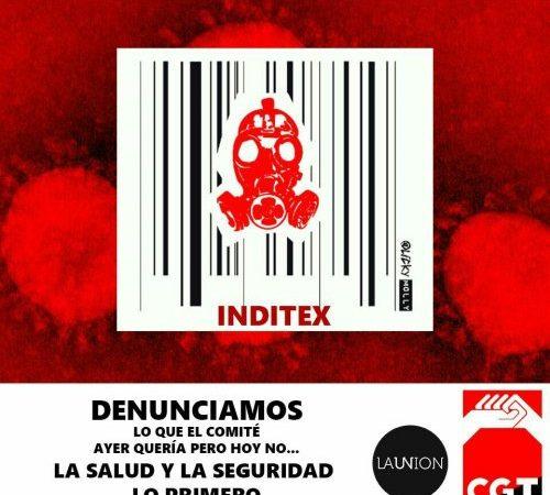 CGT formulará denuncia contra Inditex por irregularidades en la prevención