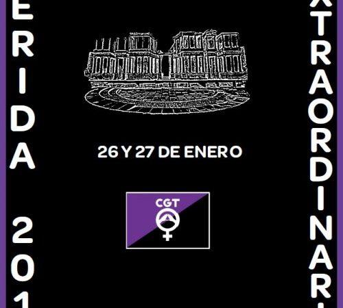 CGT celebra este fin de semana un Congreso para debatir sobre la huelga feminista del 8M