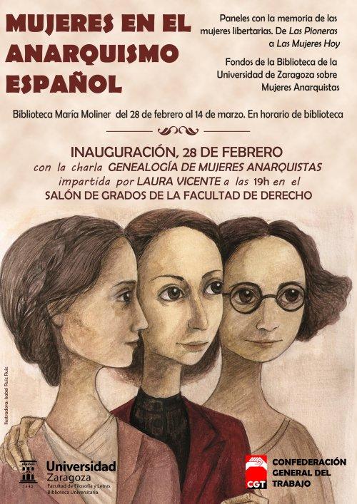 Exposición y charla sobre Mujeres en el anarquismo español