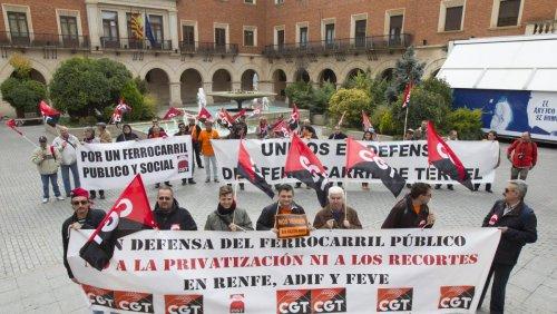 CGT con la ciudadanía por la movilidad de los pueblos de Aragón