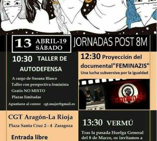 Jornadas Post 8M