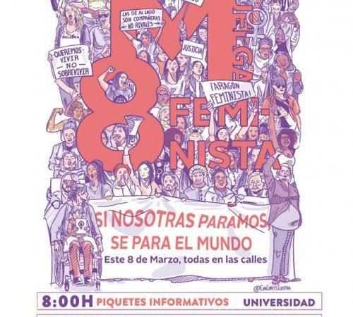 Actos huelga 8M