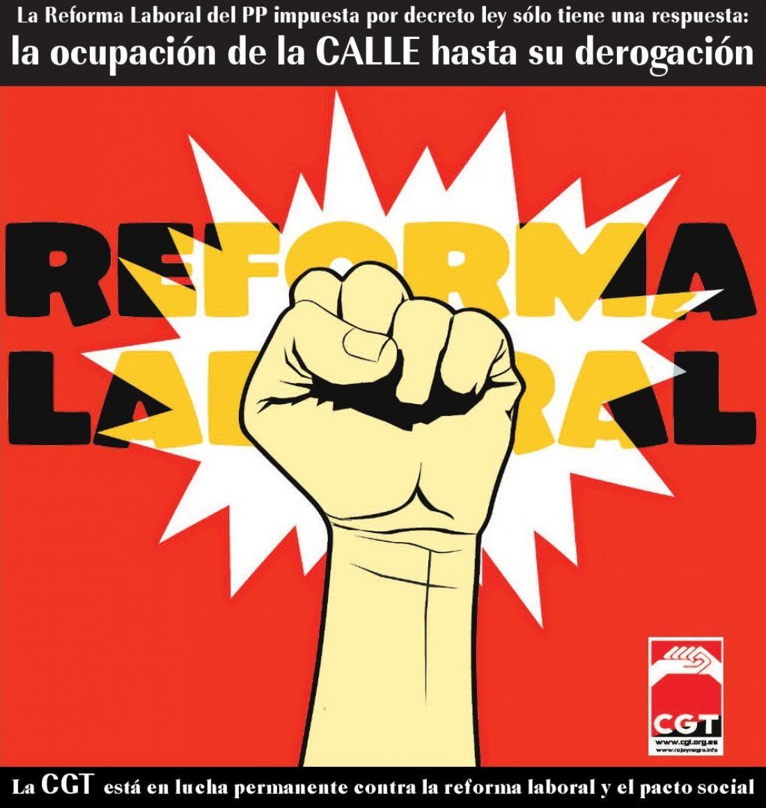Concentración derogación Reforma Laboral