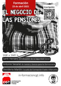 """Curso """"el negocio de las pensiones"""""""