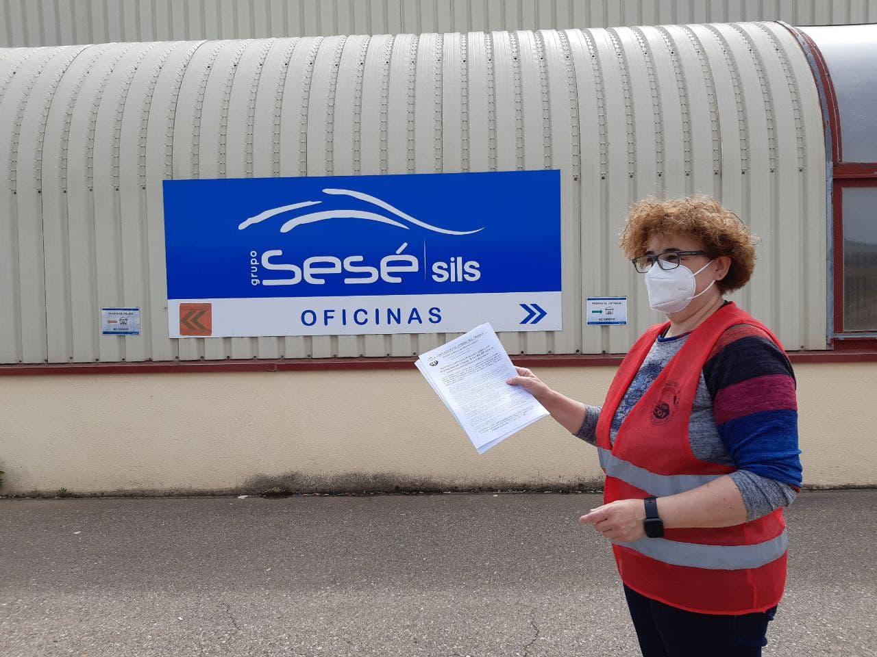 En apoyo a las trabajadoras y trabajadores del grupo Sesé.