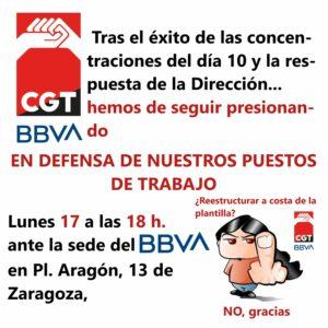 Concentración ERE BBVA @ Puerta BBVA
