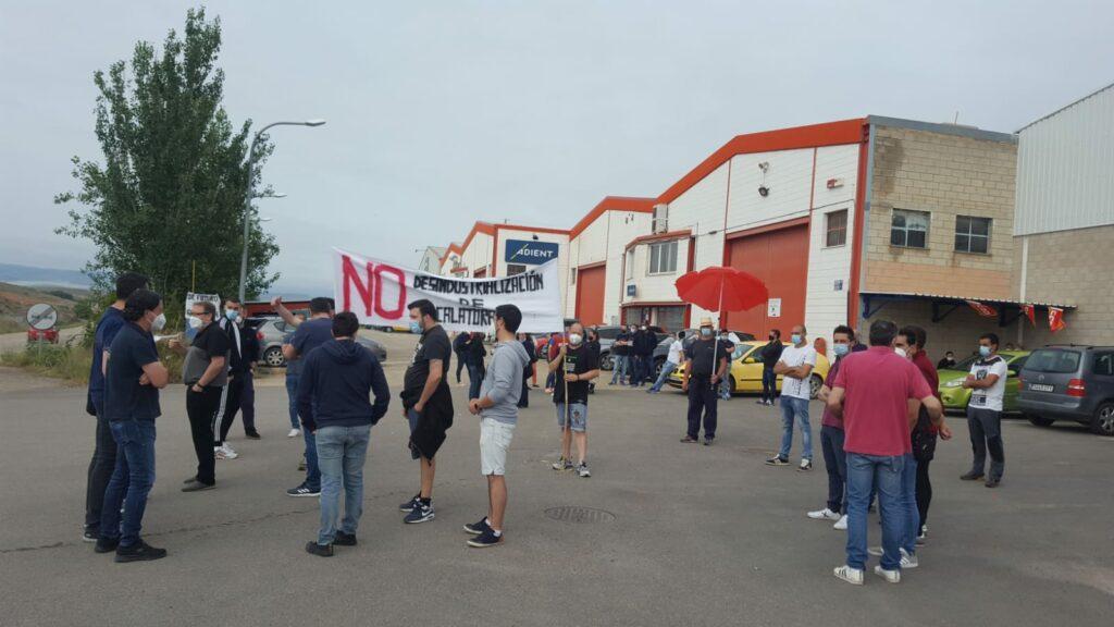 Huelga en Adient Automotive en Calatorao