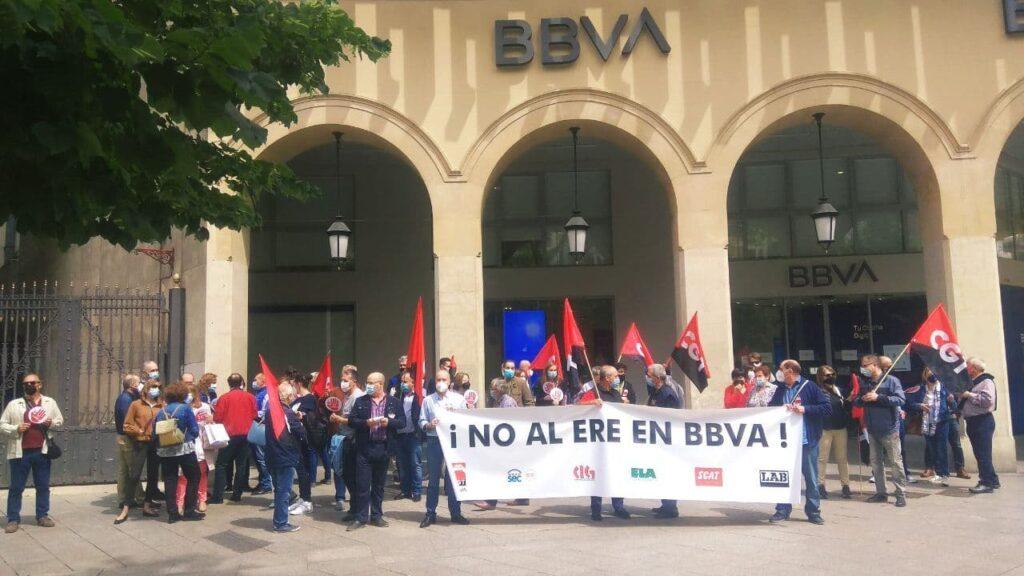 Nueva jornada de huelga en BBVA