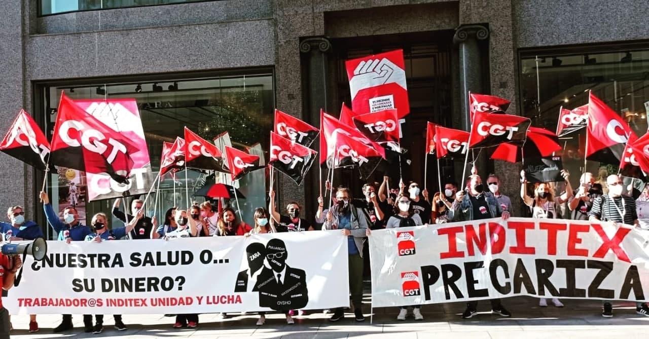 CGT  rechaza la digitalización a cambio de destrucción de empleo en tiendas de INDITEX