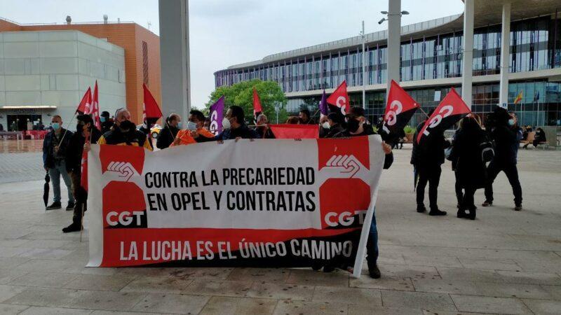 CGT entra en el comité de Logística Jit Aragón en OPEL