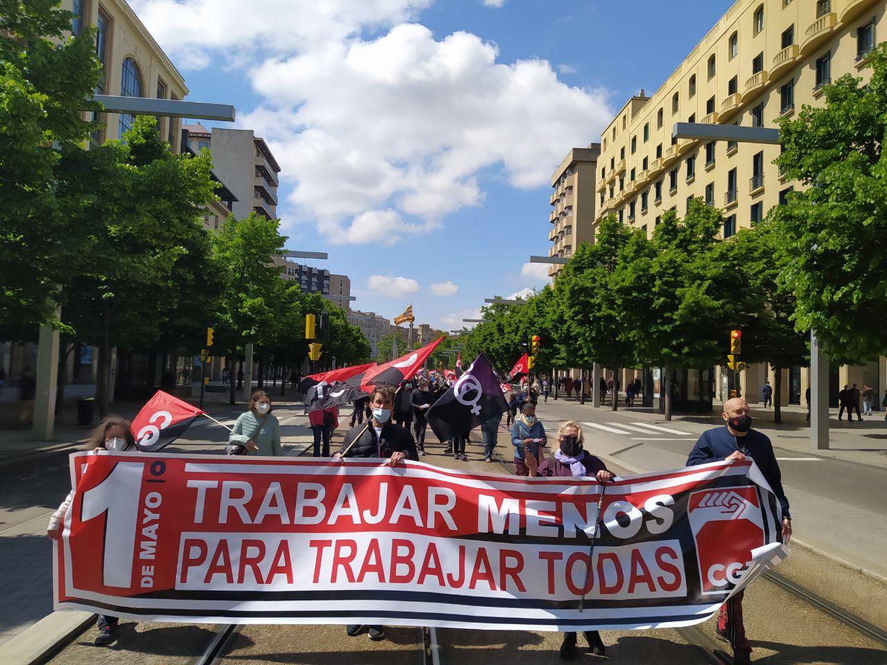 Éxito de las movilizaciones del 1º de Mayo