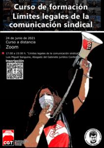 Límites legales de la comunicación sindical @ Zoom