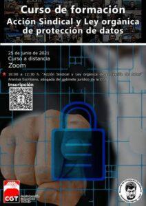 Acción Sindical y Ley orgánica de protección de datos @ Zoom