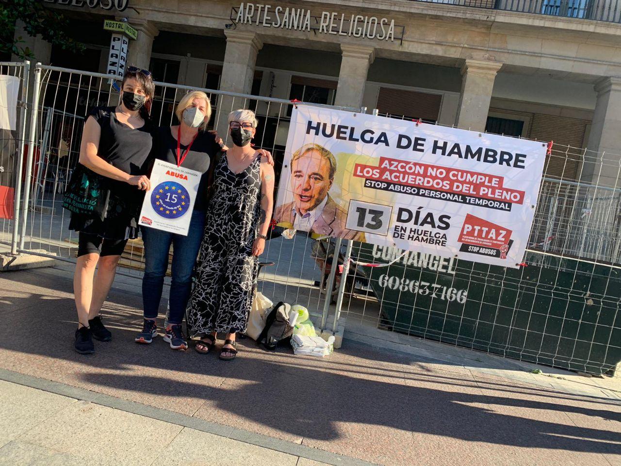 Entrevista con Raquel, interina en huelga de hambre