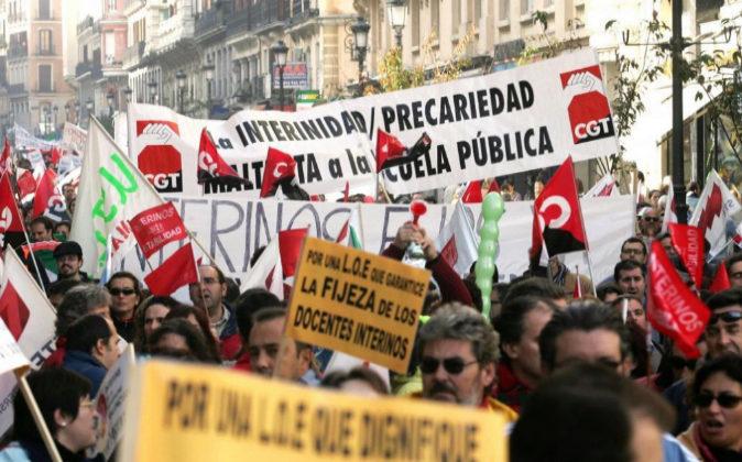 Decepcionante acuerdo frente al fraude de ley del colectivo interino
