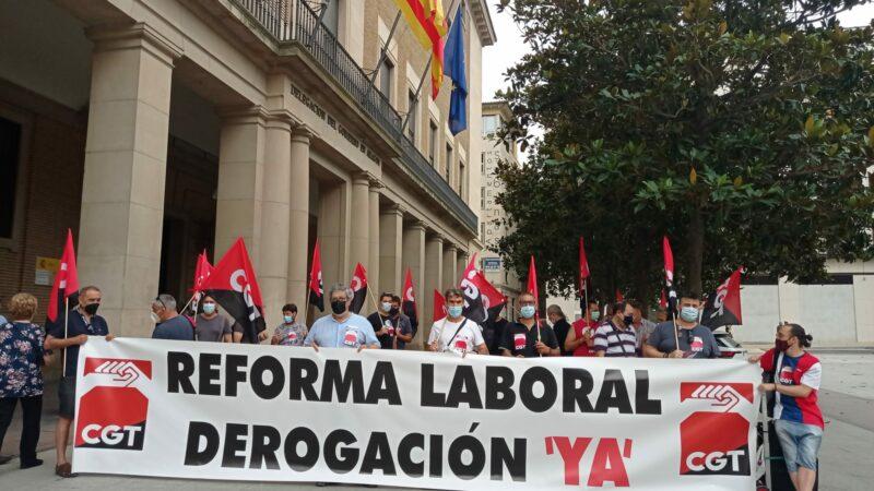 CGT de nuevo en las calles por la derogación de las reformas laborales