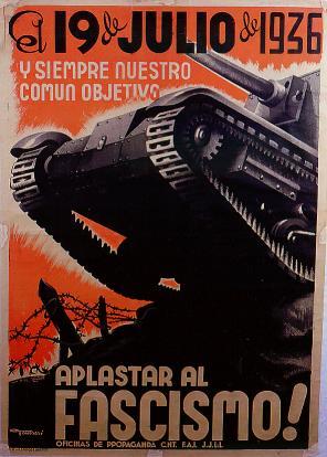 19 de Julio, Día de la Revolución  Social de 1936