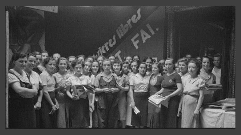 Aniversario de la creación de la Federación Nacional de Mujeres Libres