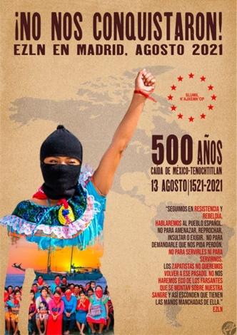 Gira Zapatista en Madrid