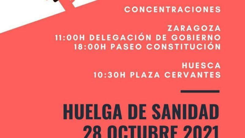 CGT Sanidad se adhiere a la huelga del 28 de octubre